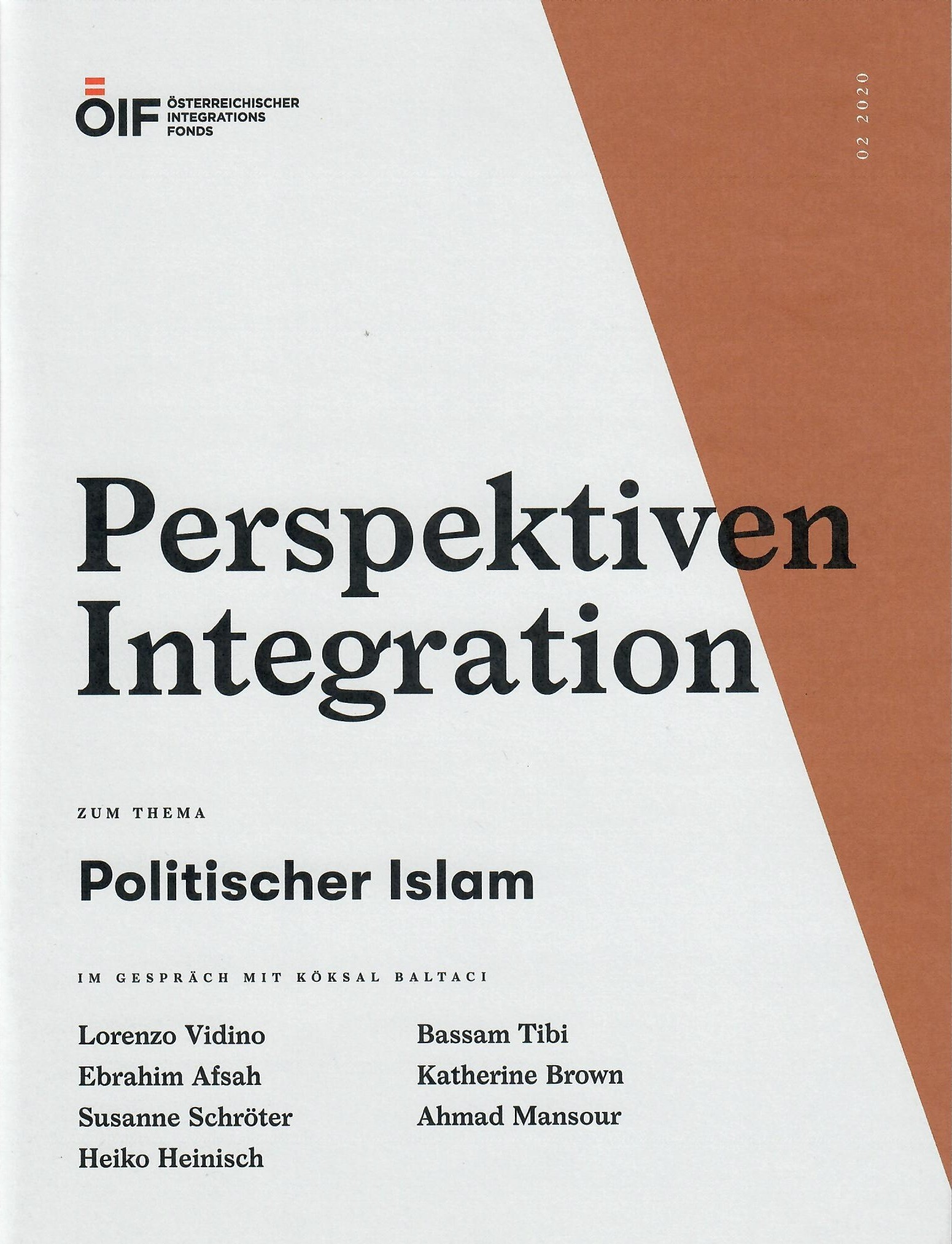 Perspektiven Integration Politischer Islam