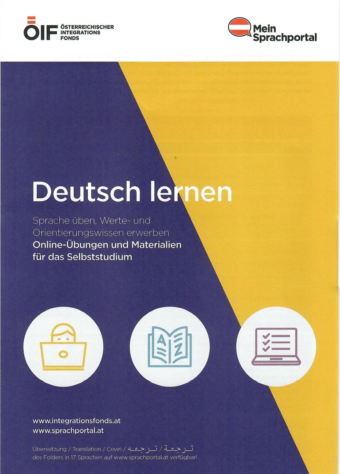 Folder Deutsch lernen