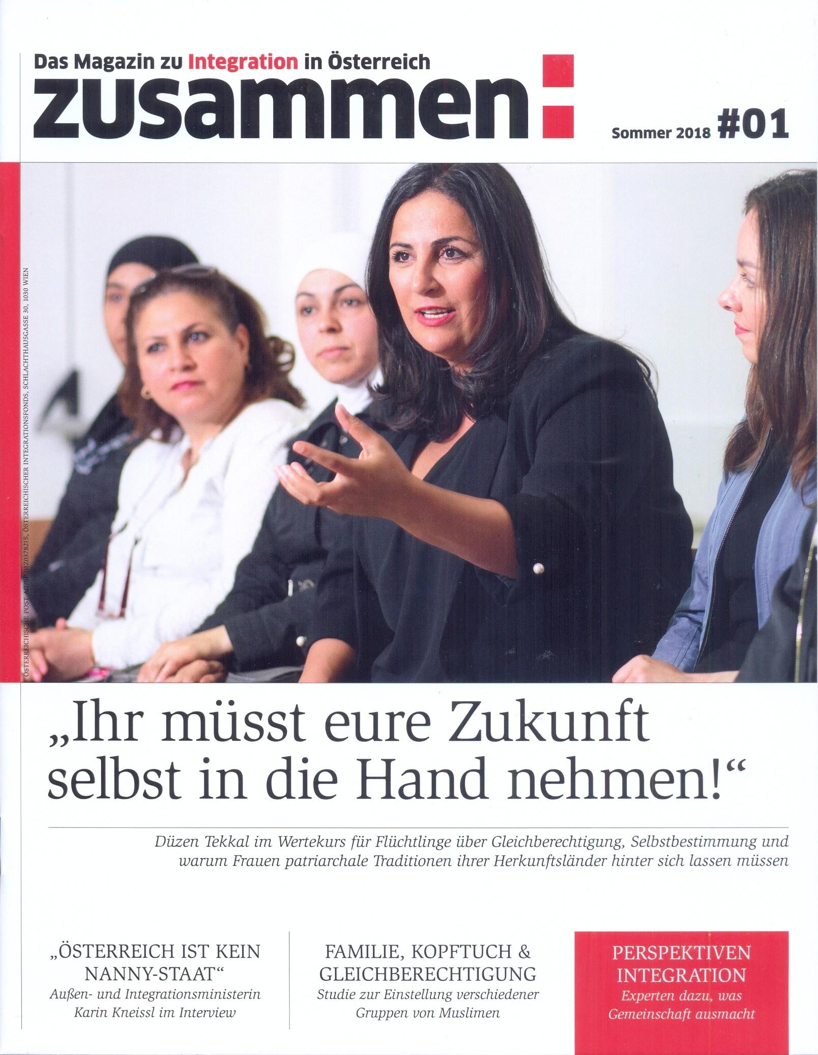 Zusammen Magazin 01/2018 #1