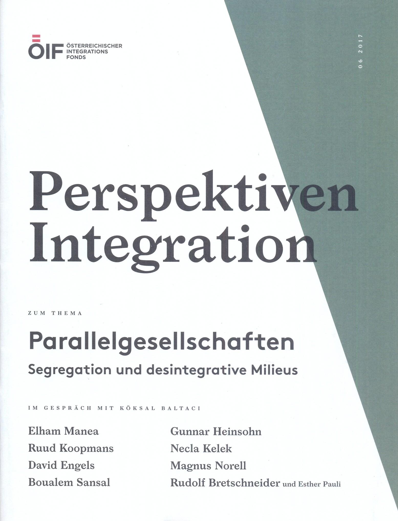 Perspektiven Integration Parallelgesellschaften