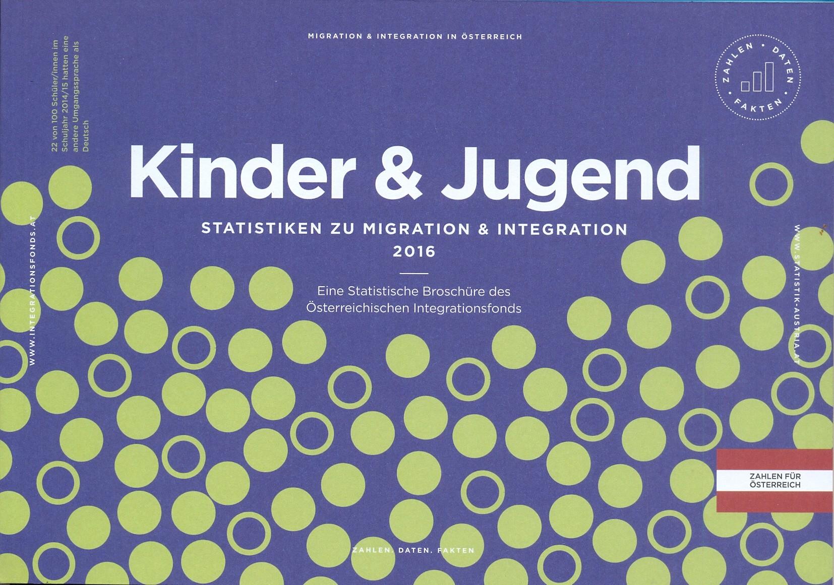 'Kinder & Jugend' Statistische Broschüre 2015/16