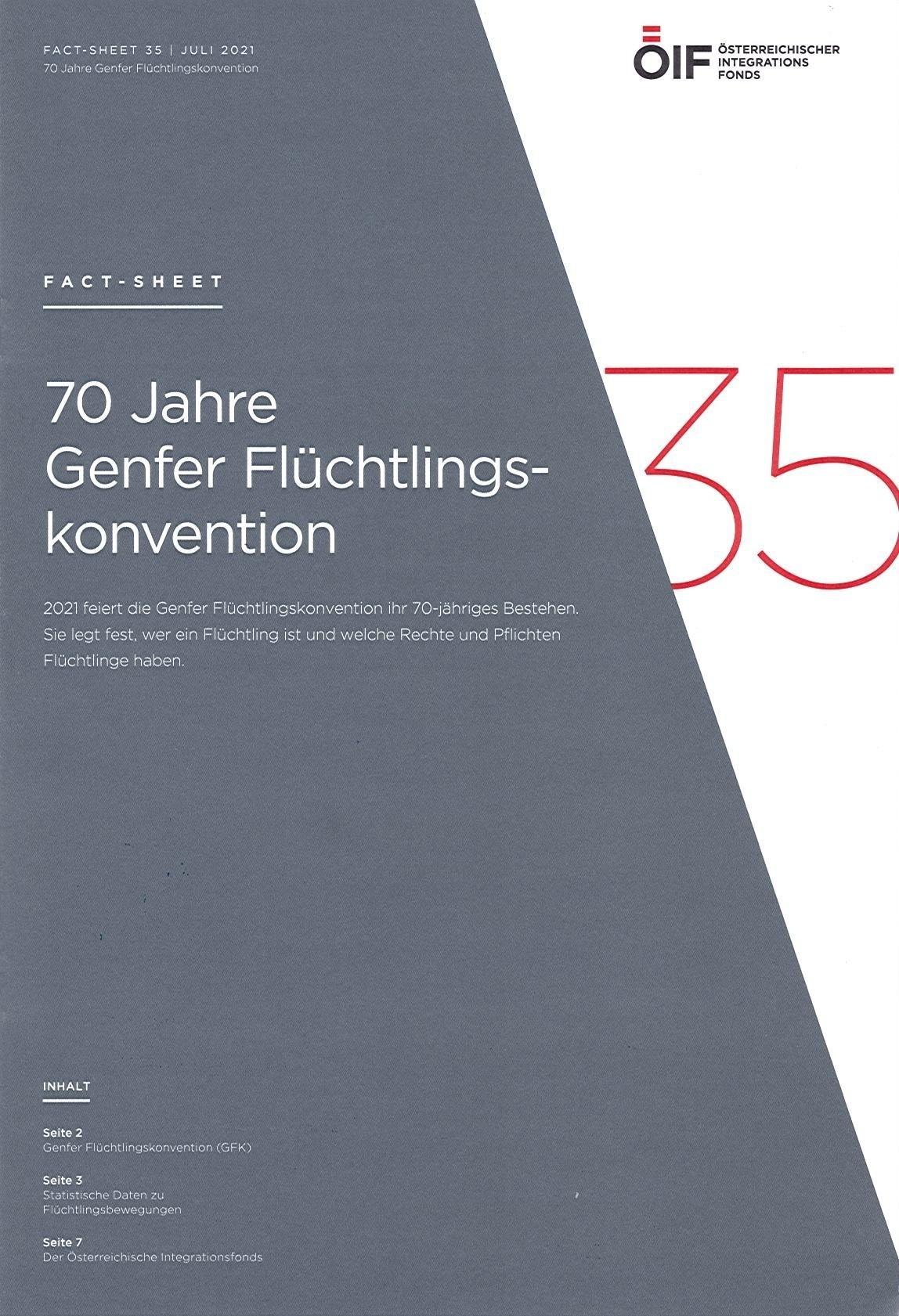 70 Jahre Genfer Flüchtlingskonvention