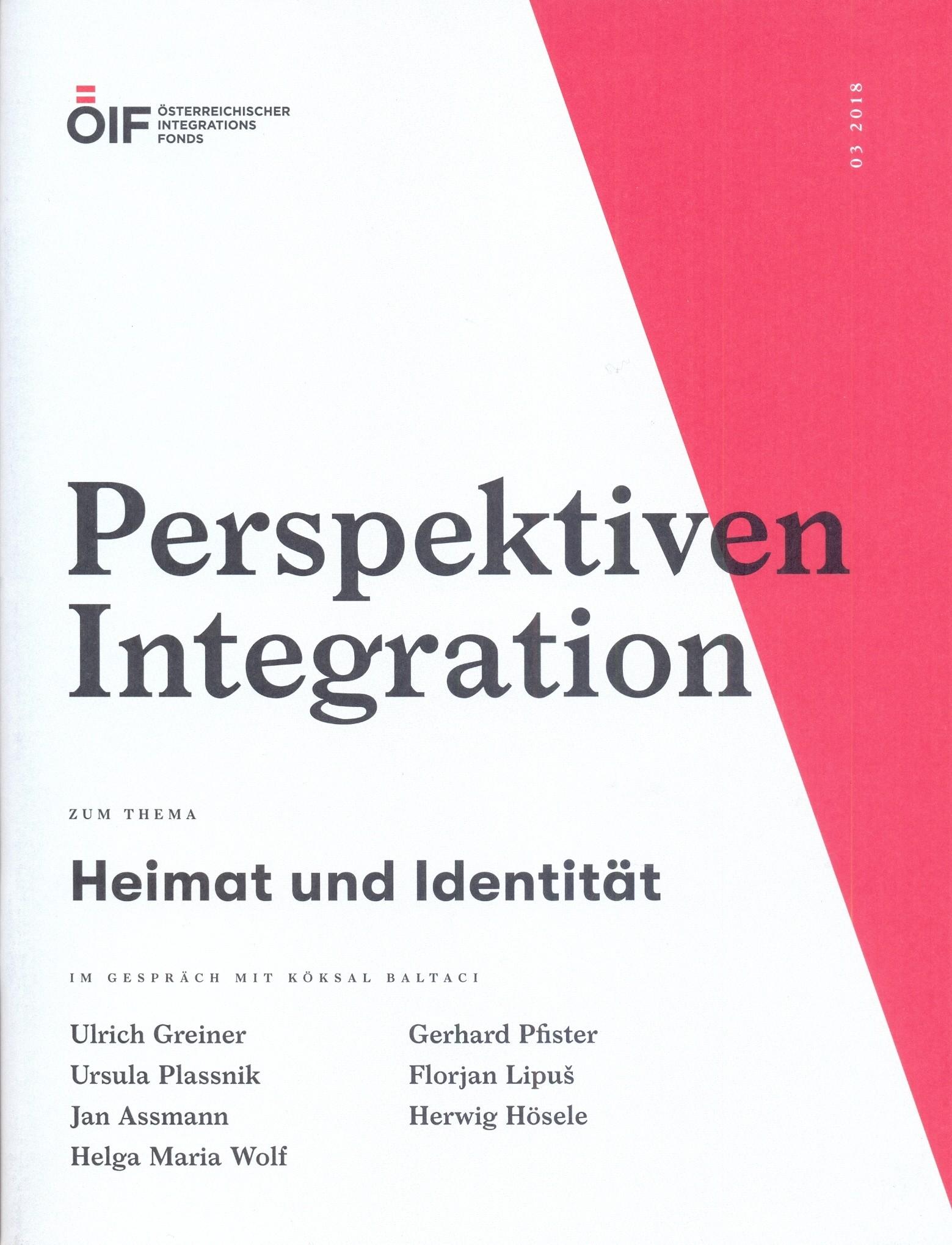 Perspektiven Integration Heimat und Identität