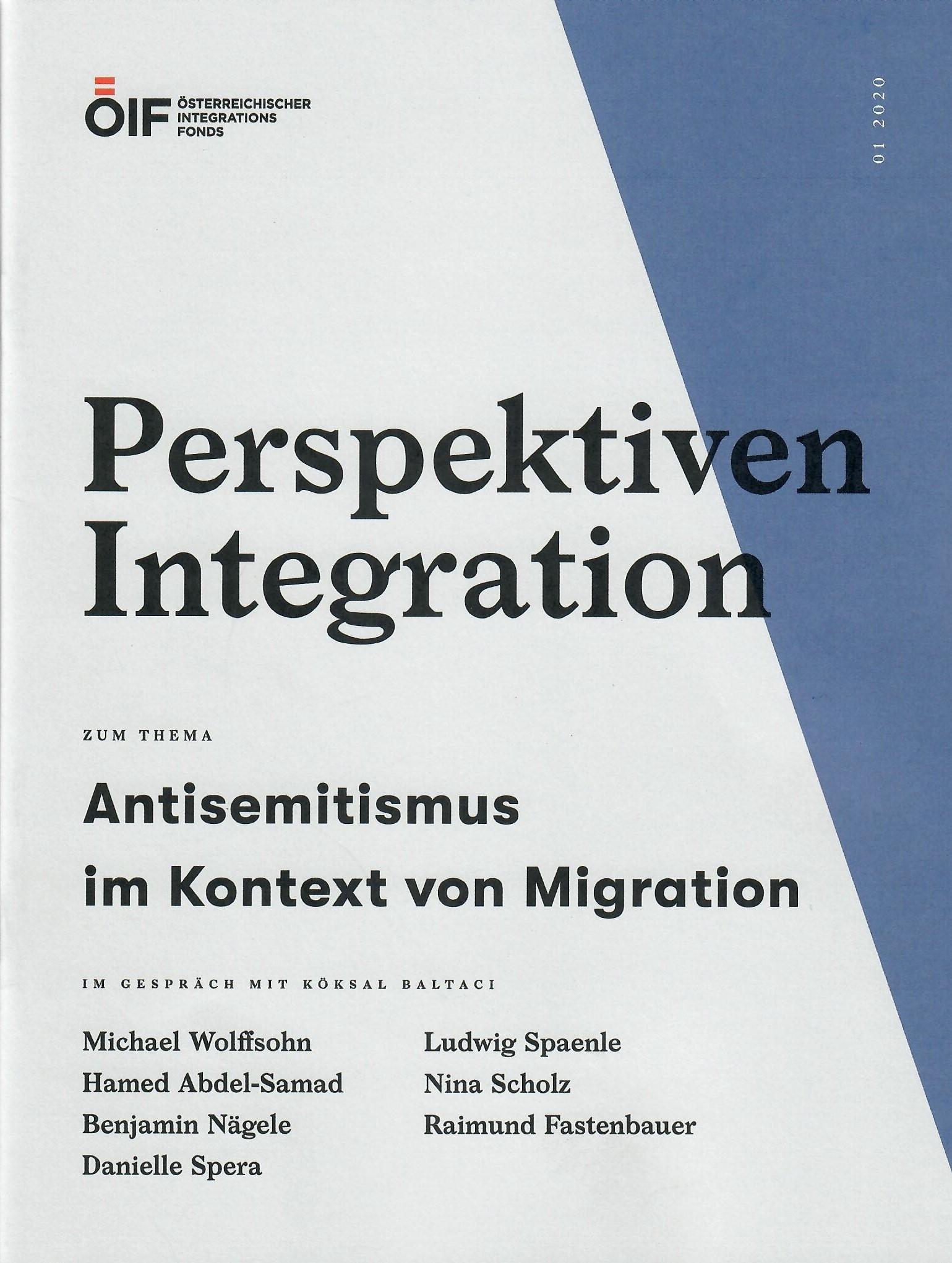 Perspektiven Integration Antisemitismus im Kontext von Migration