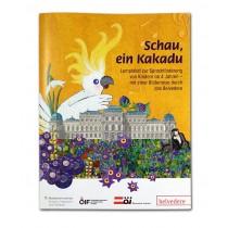 """Lernplakat zum Kinderbuch """"Schau, ein Kakadu"""""""